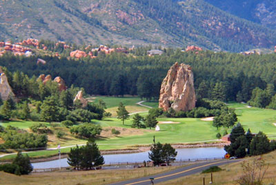 Perry Park Country Club, golf courses near Castle Rock Co