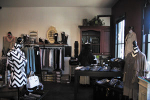 Twisted Wardrobe specializes in women's fashions.