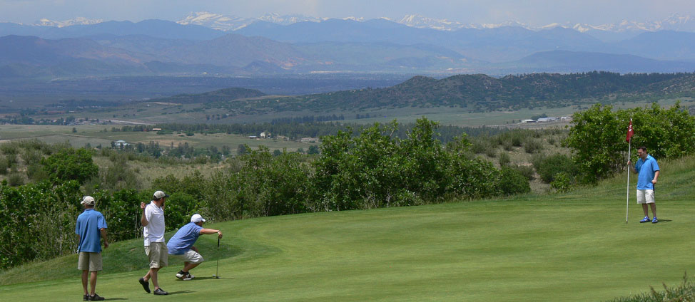 Red Hawk Ridge, Golfing in Castle Rock