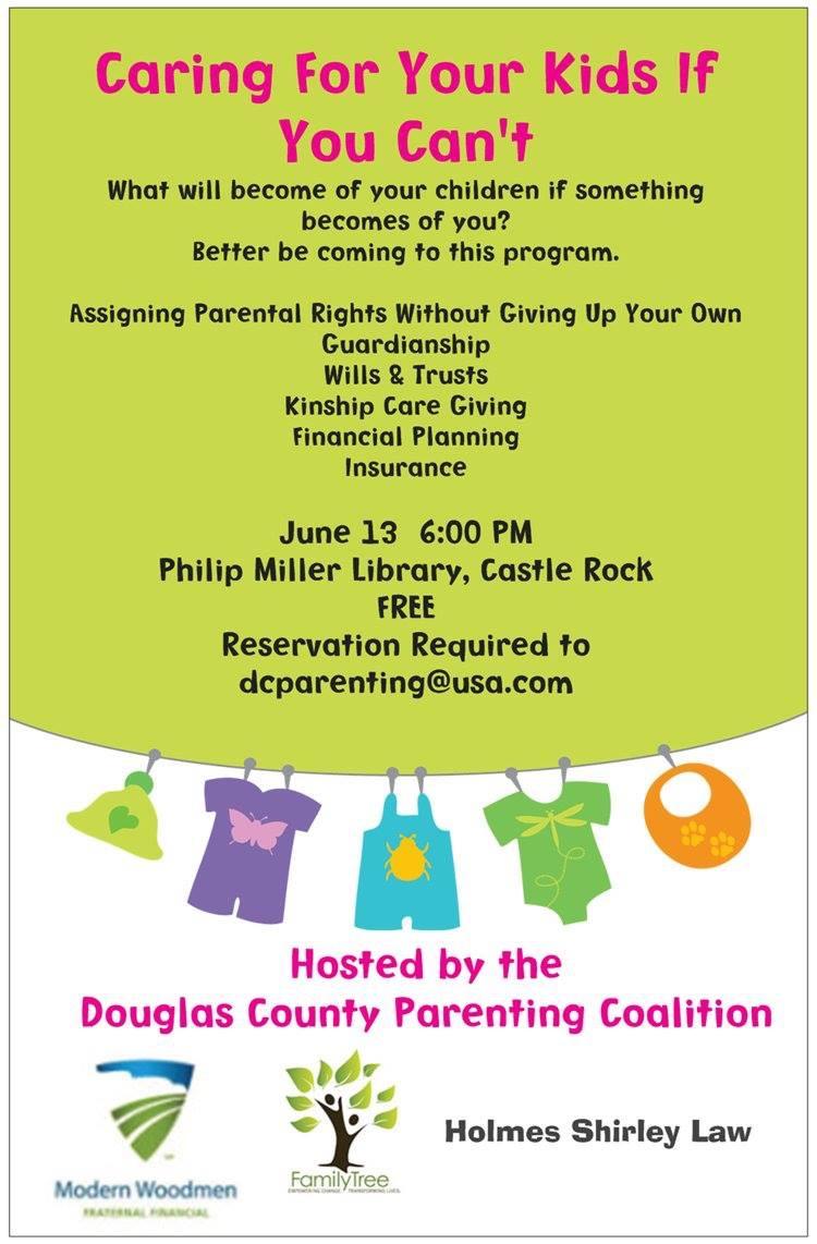 Caring For Your Kids @ Philip S. Miller Library