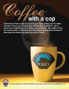 Coffee with a Cop @ Miller Activity Complex