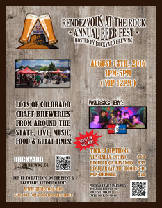 4th Annual Rendezvous At The Rock - Beer Festival @ Rockyard American Grill & Brewing Co.