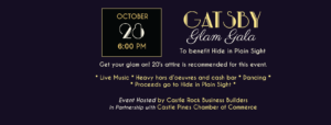 Gatsby Glam Gala @ Cielo at Castle Pines