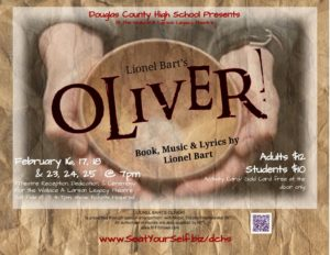 Douglas County High School Presents, Oliver @ Douglas County High School