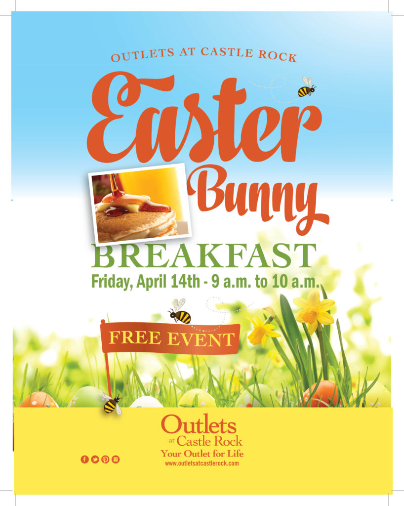 Easter Bunny Breakfast @ Outlets at Castle Rock