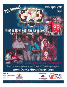 Annual Denver Draft Party @ Celebrity Lanes