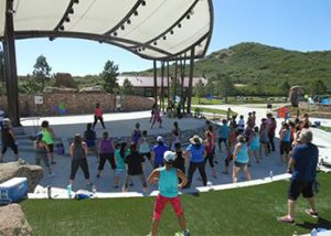 REAL Morning Zumba in the Park @ Amphitheater at Philip S. Miller Park