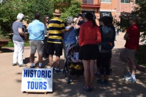 Castle Rock Historical Society and Museum's Walking Tour of Historic Castle Rock @ The  Courtyard on Perry