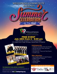 Wellspring Community Summer Celebration @ Miller Activity Complex