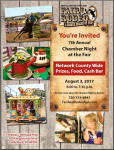 7th Annual Douglas County Fair & Rodeo Chamber Night @ Midway/Hertitage Plaza