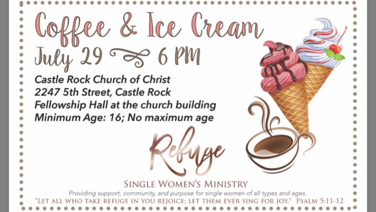 Coffee & Ice Cream @ Castle Rock Church of Christ