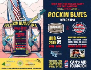 Rockin Blues Release Party Benefiting The CaN'd Aid Foundation @ Rockyard American Grill and Brewing Company