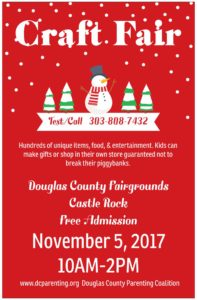 Holiday Craft Fair @ Douglas County Fairgrounds, Kirk Hall |  |  |