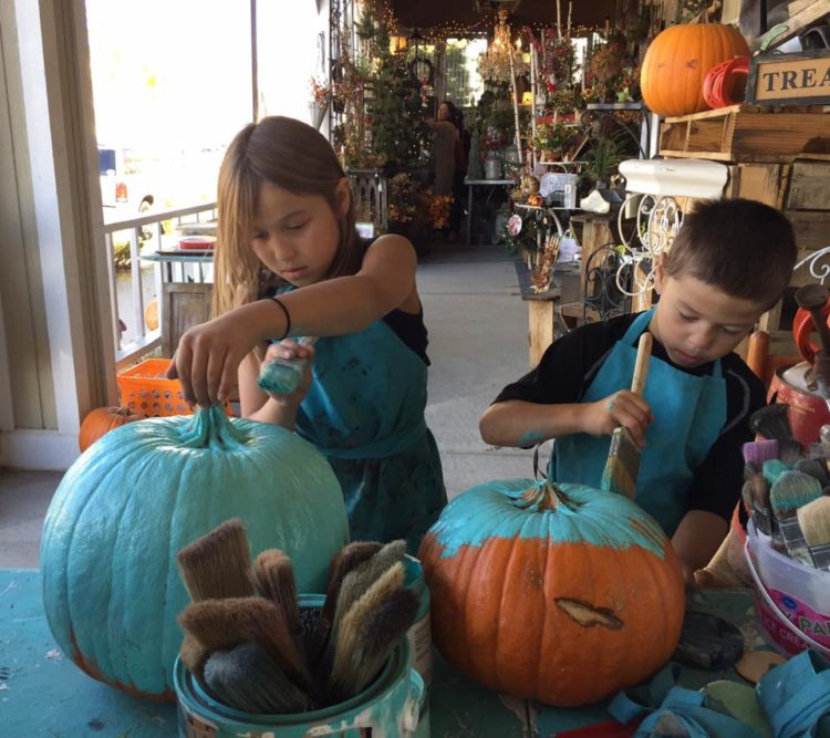 Paint a Pumpkin @ The Emporium