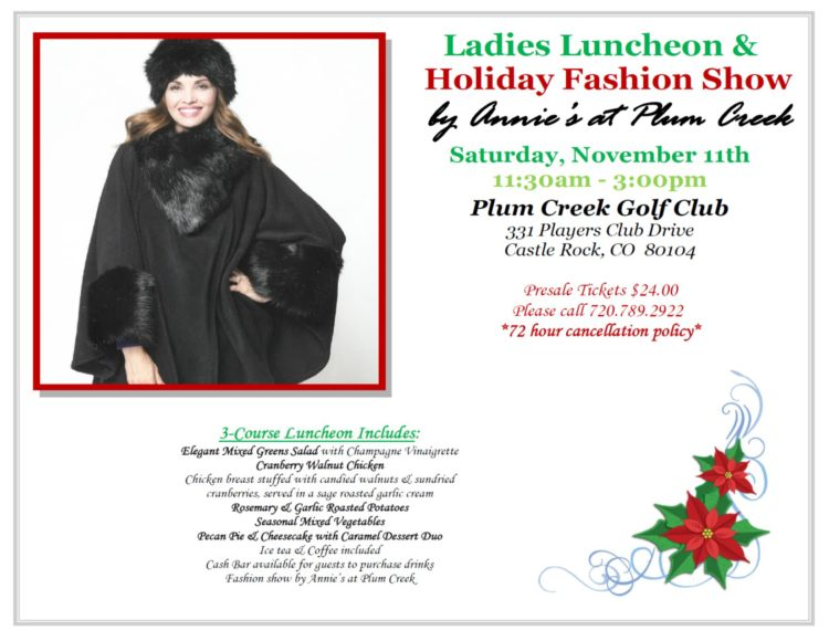 Ladies Luncheon & Holiday Fashion Show by Annie's