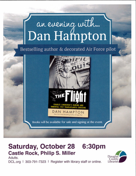 An Evening with Dan Hampton @ Philip S Miller Library