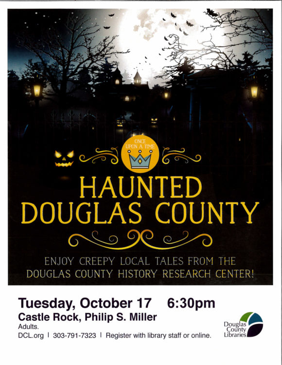 Haunted Douglas County @ Philip S. Miller Library