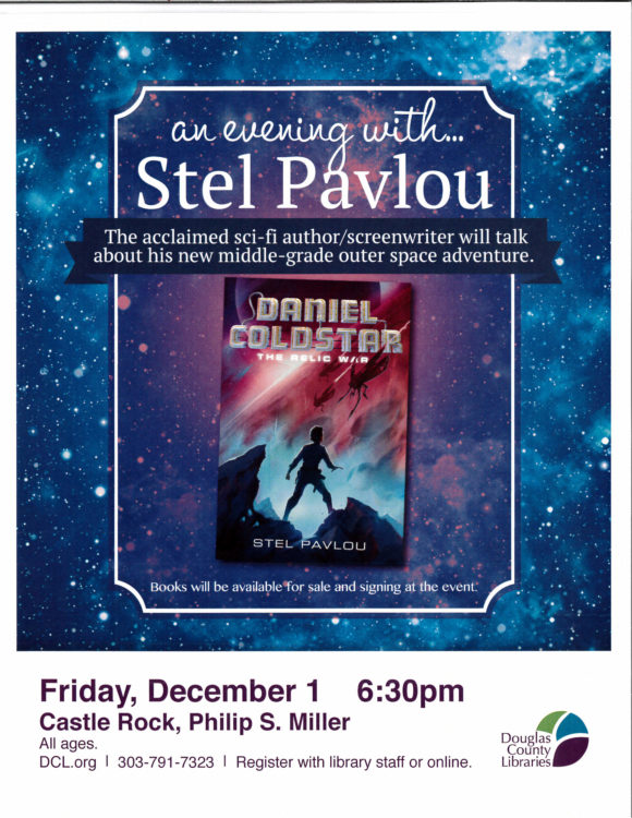 An Evening with Stel Pavlou @ Philip S Miller Library