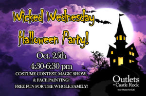 Wicked Wednesday @ Outlets at Castle Rock