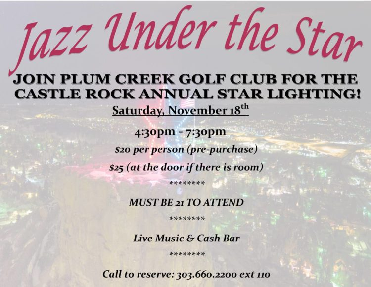 Jazz Under the Star @ Plum Creek Golf Club