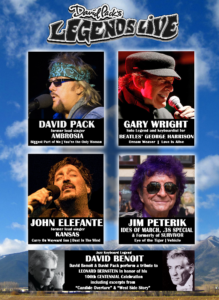 Summer Concert Series - Legends Live @ Amphitheater at Phillip S. Miller Park |  |  |