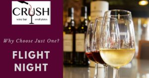 Flight Night @ Crush Wine Bar