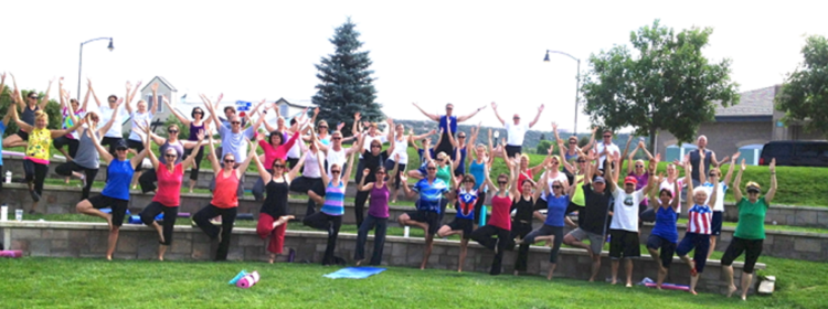Yoga in the Park @ Philip S Miller Park