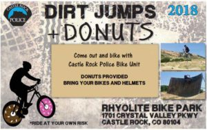 Dirt Jumps and Donuts @ Castle Rock Police Department