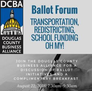 Ballot Forum @ CU South Denver Theater