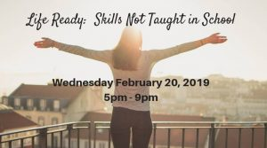 Life Ready: Skills Not Taught In School @  Castle View High School