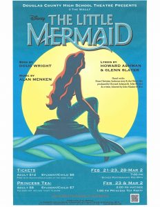 "Douglas County High School Theatre Presents ""The Little Mermaid"" @ Douglas County High School"