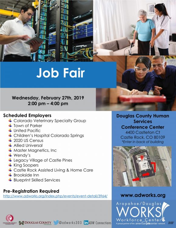 Douglas County Job Fair @ Douglas County Human Services Conference Center