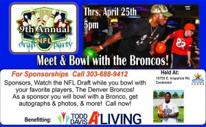 DENVER DRAFT PARTY 2019 @ Celebrity Lanes