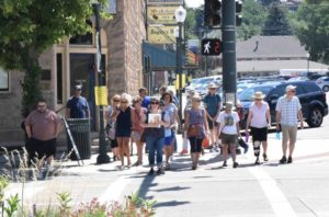 Walking Tour of Downtown Castle Rock @ The Courtyard  on Perry Street