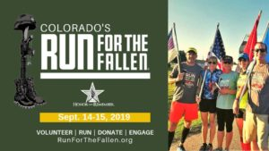 Colorado Run for the Fallen @ Mountain Post War Memorial at Fort Carson