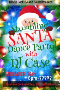Stumbling Santa - 2019 - Dance Party @ Colorado Cork and Keg