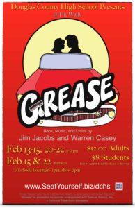 "Douglas County High School Theatre Presents ""Grease"" @ Douglas County High School"
