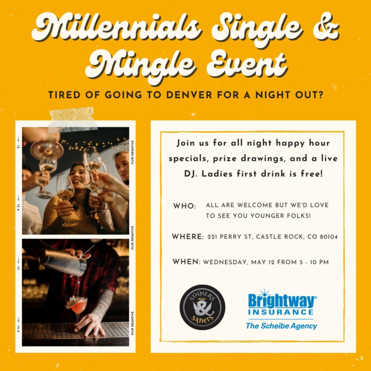 Millennial Single & Mingle event @ Sinners & Saints